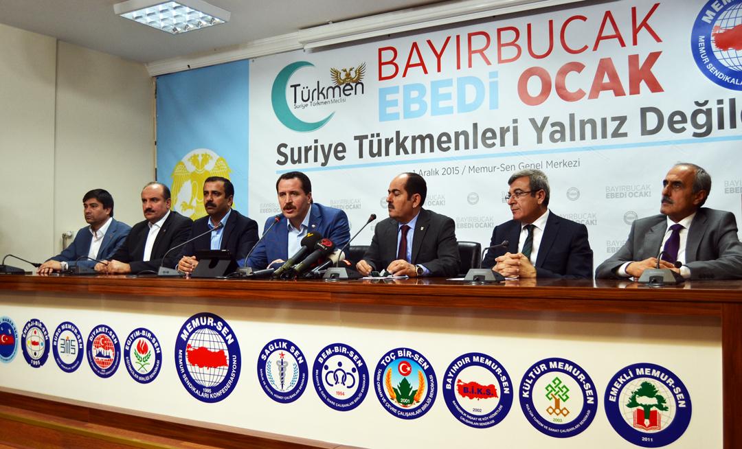 Yalçın: Bayırbucak Türkmenlerinin Yanında, Zalimlerin Karşısındayız